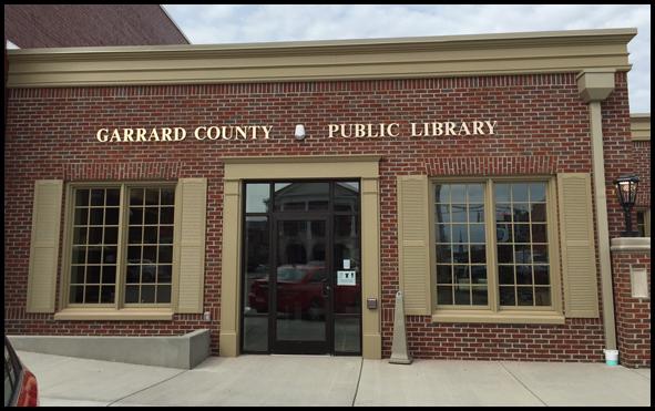 Garrard County Public Library Lancaster, Kentucky